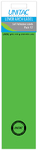 Unitac - Lever Arch Labels - Neon Green (Pack of 12)