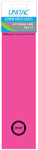 Unitac - Lever Arch Labels - Neon Pink (Pack of 12)