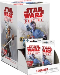 Star Wars: Destiny - Legacies Booster Box - 36 Boosters (Collectible Dice Game) - Cover