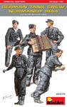 MiniArt - 1/35 - German Tank Crew (Normandy '44) Special Edition (Plastic Model Kit)