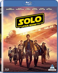 Solo: A Star Wars Story (2 Disc) (Blu-ray) - Cover