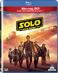 Solo: A Star Wars Story (3D Blu-ray) - Cover