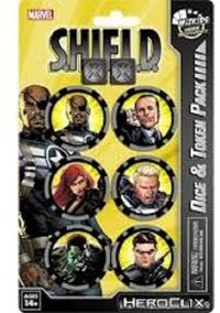 Marvel HeroClix - Nick Fury, Agent of S.H.I.E.L.D. Dice & Token Pack (Miniatures) - Cover
