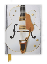 Gretsch White Guitar (Foiled Journal) - Flame Tree (Hardcover) - Cover