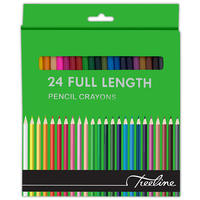 Treeline - Pencil Crayons 24's Full Length (Box of 6)