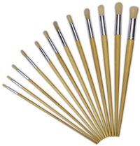 Treeline - Long Handle Brushes Round Synthetic Size 1-12 Set - Cover