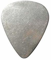 Dunlop Stainless Steel Standard 0.51mm Plectrum (Single) - Cover
