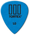 Dunlop Tortex TIII 1.0mm Plectrum (Blue)