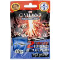 Marvel Dice Masters - Civil War Single Booster (Dice Game)