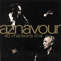 Charles Aznavour - 40 Chansons D'or (CD) - Cover
