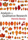 Analysis In Qualitative Research - Hennie Boeije (Paperback)