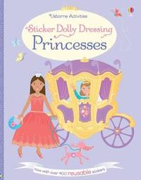 Sticker Dolly Dressing Princesses - Fiona Watt (Paperback) - Cover