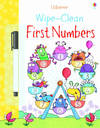 Wipe-Clean First Numbers - Jessica Greenwell (Paperback)