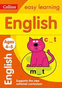 English Ages 4-5: New Edition - Collins Easy Learning (Paperback) - Cover