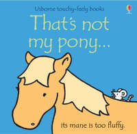 That's Not My Pony - Fiona Watt (Board book) - Cover