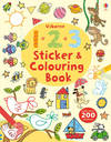 123 Sticker and Colouring Book - Jessica Greenwell (Paperback)