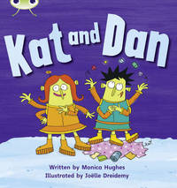 Phonics Bug: Kat and Dan Phase 2 - Monica Hughes (Paperback) - Cover