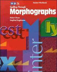 Spelling Through Morphographs - Student Workbook - Mcgraw-Hill Education (Paperback) - Cover