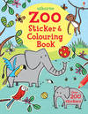 Zoo Sticker and Colouring Book - Jessica Greenwell (Paperback)