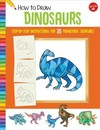 How to Draw Dinosaurs - Jeff Shelly (Paperback)