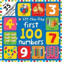 Lift-the-Flap First 100 Numbers - Roger Priddy (Board book) - Cover