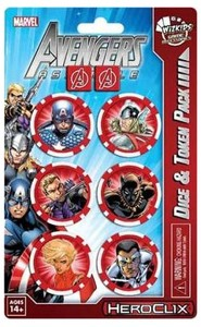 Marvel HeroClix - Avengers Assemble:  Captain America Dice and Token Pack (Miniatures) - Cover