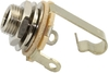 Switchcraft 11 Mono 1/4 Inch Instrument Input Jack - Silver (Pack of 20)