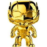 Funko Pop! Marvel - Marvel Studio's 10th Anniversary - Ant-Man Gold Chrome Vinyl Figure - Cover
