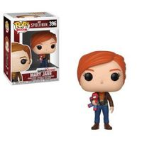 Funko Pop! Games - Marvel Spider-Man - Mary Jane With Plush Vinyl Figure - Cover