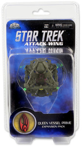 Star Trek: Attack Wing - Borg Queen Vessel Prime Expansion Pack (Miniatures) - Cover