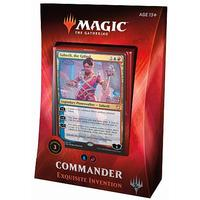 Magic: The Gathering - Commander 2018 - Exquisite Inventions (Trading Card Game)