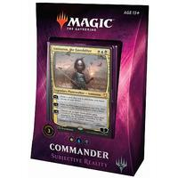 Magic: The Gathering - Commander 2018 - Subjective Reality (Trading Card Game)