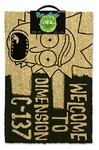 Rick and Morty - Dimension C-137 (Door Mat) Cover