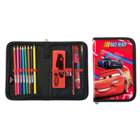 Disney - Cars Single Zip Filled Pencil Case - Cover