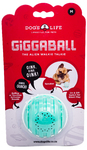 Dog's Life - The Alien Walkie Talkie Giggaball - Medium - Dog Toy (Turquoise)
