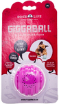 Dog's Life - The Alien Walkie Talkie Giggaball - Medium - Dog Toy (Pink)