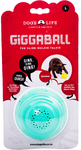 Dog's Life - The Alien Walkie Talkie Giggaball - Large - Dog Toy (Turquoise)