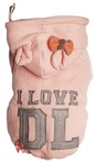 Dog's Life - I Love DL Hoodie - Pink (XX-Large)