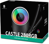 Deepcool Castle 280RGB CPU Liquid Cooler - Cover