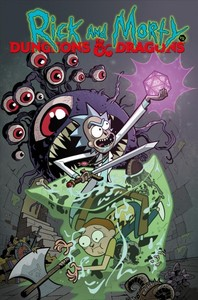 Rick and Morty Vs. Dungeons & Dragons - Patrick Rothfuss (Paperback) - Cover