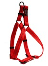 Dog's Life - Reflective Supersoft Webbing Step In Harness - Red (Medium)
