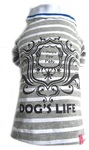 Dog's Life - Gentleman's Polo Shirt - Grey (XXX-Large)