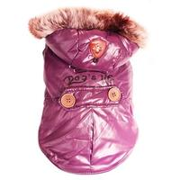 Dog's Life - Royal Parka Jacket With Hood - Purple (Medium)