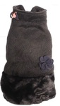 Dog's Life - Fluffy Puffle Jacket - Black (X-Small)