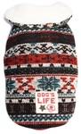 Dog's Life - Chic Vintage Wool Cape Coat - Red (Small)