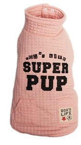 Dog's Life - Superpup Lightweight Puffer Vest - Pink (Small) - Cover