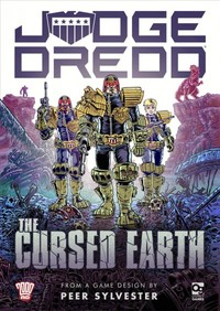 Judge Dredd: The Cursed Earth (Card Game) - Cover
