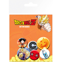 Dragon Ball Z - Character Prints Button Badges - Cover