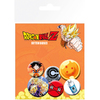 Dragon Ball Z - Character Prints Button Badges