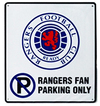 Rangers F.C. - Club Crest No Parking Sign